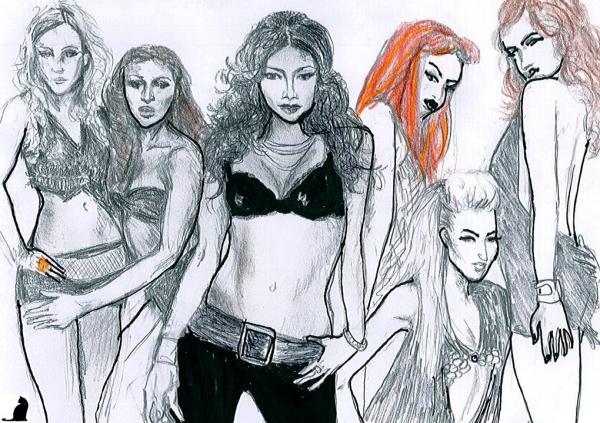 Pussycat Dolls by catinon